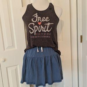 Bundle Flowy Free Spirit tank and skirt